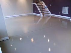 White epoxy paint waterproof basement flooring                                                                                                                                                     More