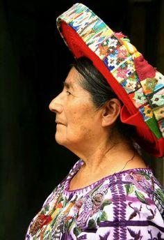 La cara de la CHOCA 1963. Comcepcion Ramirez Mendoza, Santiago Atitlan Guatemala.