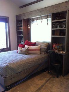 Built In Headboard love the built in headboards/shelves/bedside tables | design ideas