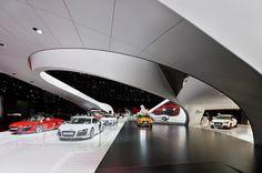 Audi - Mondial de l'Automobile Paris 2010 | Schmidhuber | Exhibition Design