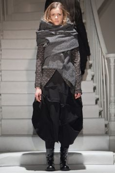 Rundholz Fall Winter Ready To Wear 2012 Paris. Another classic Rundholz, it cant be missed
