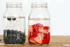 vodka and fruit
