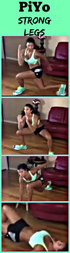 PiYo Strong Legs with paper plates
