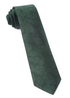 REFINADO FLORAL - HUNTER GREEN