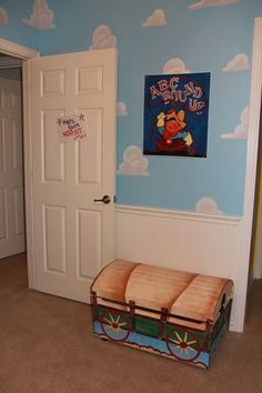 """A mother took her love of Disney, Pixar, and """"Toy Story"""" and gave her twin boys the ultimate awesome bedroom."""