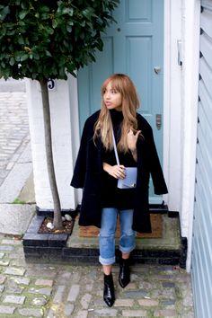 A Style Diary by Samantha Maria : BLACK & BLUE