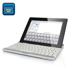 iPad - Dansk mobilt bluetooth keyboard m. Ipad 4, New Ipad, Bluetooth Keyboard, Computer Keyboard, Ipad 3 Cases, Mobile Marketing, Iphone Accessories, Cover, Cable Television