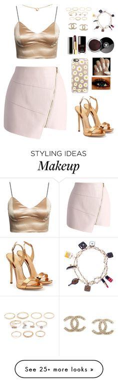 """"""""""" by dallasgliterada on Polyvore featuring Chicwish, Giuseppe Zanotti, Cartier, Chanel, Forever 21, Casetify, women's clothing, women, female and woman"""