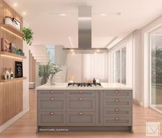 Memo Boards, Wooden Dining Set, Small Galley Kitchens, Outdoor Kitchen Bars, Shaker Kitchen, Kitchen Island, Home Decor Kitchen, Kitchen Styling, Beautiful Kitchens