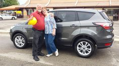 JUDY's new 2017 FORD ESCAPE! Congratulations and best wishes from Kunes Country Ford Lincoln of Delavan and Dane Andersen.