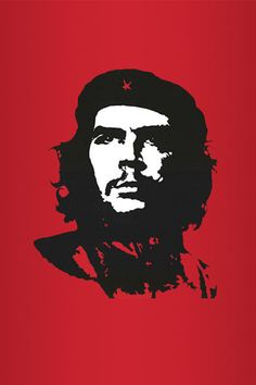 red+che+guevara+vector+-+Android+Wallpapers+HD