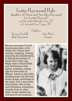 Ancestor Trading Cards - Digital Scrapbook Memories Forums