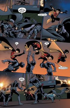 Young Justice #11 page 3 #YoungJustice #Batman