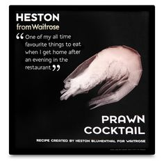 Sales of Heston prawn cocktail have been booming at Ocado recently, with a increase. Cocktail Recipes, Cocktails, Prawn Cocktail, Heston Blumenthal, Bloody Mary, Party Looks, Perfect Party, Bravissimo, It's Raining