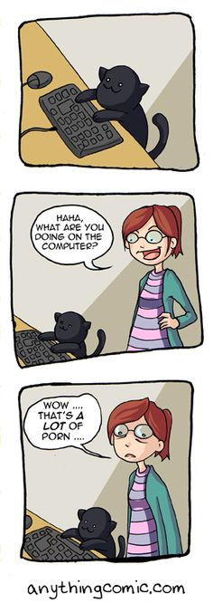 Anything about nothing :: Comics - Sneaky Moggy