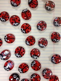 The Second Thought: Ladybug Magnets & Record Bowl Planters