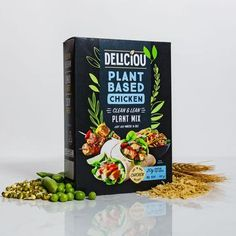 The Vegan Combo Pack contains the most meaty seasonings Deliciou has to offer and a set of 3 Plant-Based Chicken cartons. Perfect for your plant-based cooking needs. Vegetable Protein, Plant Protein, Plant Based Diet, Plant Based Recipes, Tasty Vegetarian Recipes, Healthy Recipes, Juice Recipes, Vegan Vegetarian, Bacon Seasoning