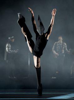 Gareth Pugh's sculptural designs for new ballet Carbon Life.