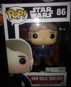 """The Hans Solo Funko Pop! Vinyl... (Star Wars VII: The Force Awakens)…"