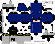 Jim Lee Batman Cubee by BobTheEgg.deviantart.com on @deviantART