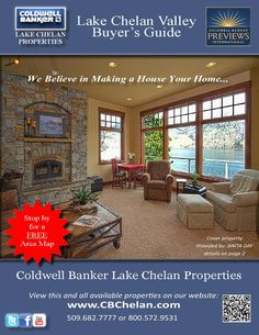 Coldwell Banker Lake Chelan Properties' Lake Chelan Valley Real Estate Guide  Residential, Commercial, and Vacation listings for Coldwell Banker Lake Chelan Properties in the Lake Chelan Valley.