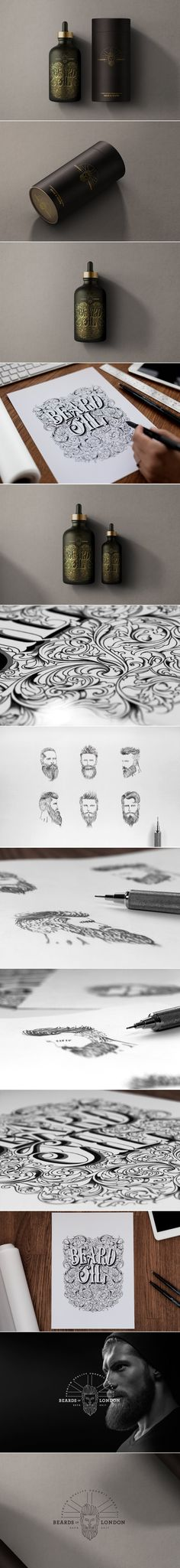 Keep Your Beard In Check With This Elegant Beard Oil — The Dieline | Packaging & Branding Design & Innovation News