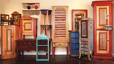 Furniture Folk Art Decorative Accessories Gifts And Jewelry In Santa Fe New Mexico