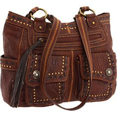 Lou-ella Three Compartment Tote Russet  $30.99