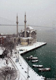 my part of Istanbul! Plaese snow please snow please snow.my part of Istanbul! Plaese snow please snow please snow. Places Around The World, The Places Youll Go, Places To See, Around The Worlds, Antalya, Wonderful Places, Beautiful Places, Beautiful Mosques, Turkey Travel