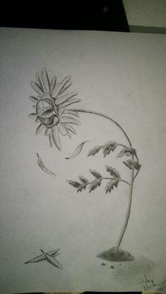 A sorrowful flower