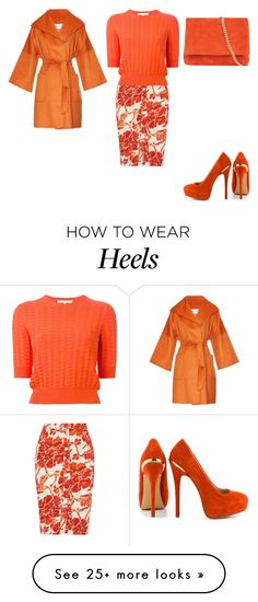 """Untitled #19787"" by edasn12 on Polyvore featuring Altuzarra, Carven, Karen Millen, ShoeMint and MaxMara"
