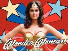 Wonder Woman ...I used to play like I was her and my friend would be the bionic woman or Isis.