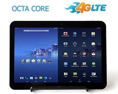 "cool PumpkinX 4G LTE 10.1"" 32GB Android 4.4.4 KitKat [OCTA CORE] Phablet (Tablet+Phone)-4G LTE, Dual Sim, HDMI, World Un-locked, Bluetooth 4.0- Black"