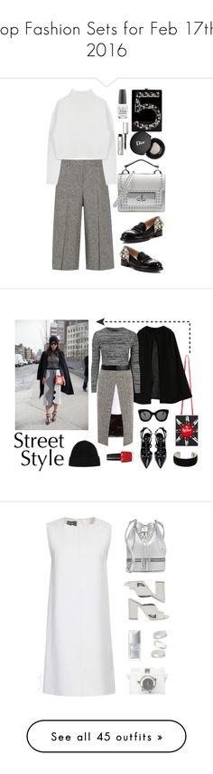 """""""Top Fashion Sets for Feb 17th, 2016"""" by polyvore ❤ liked on Polyvore featuring Chanel, Theory, Marc Jacobs, Dion Lee, Christian Dior, OPI, N°21, Bobbi Brown Cosmetics, women's clothing and women"""