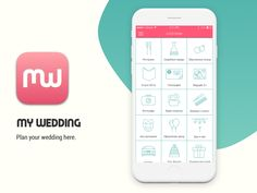 "Check out my @Behance project: ""My Wedding (2016)"" https://www.behance.net/gallery/44530257/My-Wedding-(2016)  #app #wedding #marriage #ios #iphone #icon #design #ux #ui #startup #mywedding #marry #celebration"