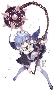 Rem (Re:Zero) - Re:Zero Kara Hajimeru Isekai Seikatsu - Mobile Wallpaper - Zerochan Anime Image Board Re Zero Wallpaper, Ram Wallpaper, Kero Sakura, Anime Play, Ram And Rem, Anime School Girl, Anime Girls, Anime Maid, Loli Kawaii
