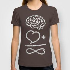 Brain + Heart = Infinity T-shirt