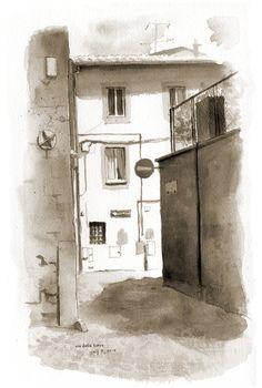 Via Della Torre, Viterbo Italy