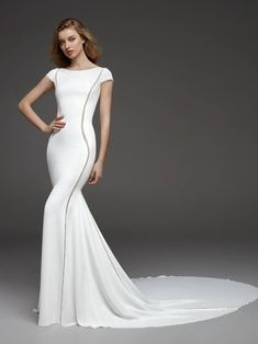 Vestido de novia ideal para mujeres bajitas