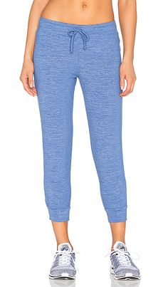 Shop for Beyond Yoga Cloud Heather Relaxed Sweatpant in Heather Faded Denim  at REVOLVE. Free b96cc7aeb19