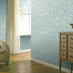 This Country Folk Woodland Wallpaper features woodland animals, wild flowers and leaves in matte white on a soft blue grey background with a smooth matte finish Wallpaper Uk, Wallpaper Paste, Paper Wallpaper, Adhesive Wallpaper, Denmark Street, Country House Interior, High Quality Wallpapers, Gray Background, Home Art