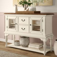 Store your extra dinnerware, flatware, and table linens in a buffet table or sideboard. Shop our great selection of stylish buffet tables and sideboards. Decor, Furniture, Local Furniture, Dining Room Server, Sideboard, Room, Interior, Extendable Dining Table, Home Decor