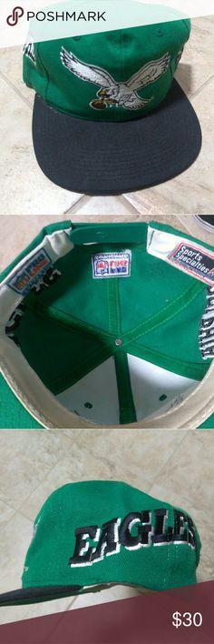 VINTAGE PHILADELPHIA EAGLES NFL  SNAPBACK VINTAGE PHILADELPHIA EAGLES NFL FOOTBALL SPORTS SPECIALTIES SNAPBACK HAT sports Specialties Accessories Hats