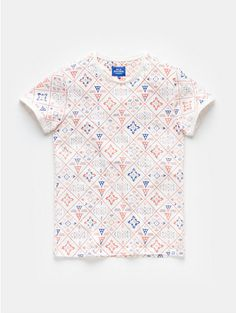 Print t-shirt wit, off-white - The Sting