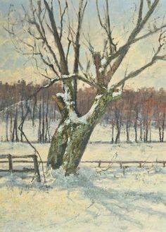 Zimowa Wierzba