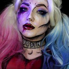Best Ideas For Makeup Tutorials Picture Description Pop Art Grunge Harley Quinn Makeup Tutorial Pop Art Makeup, Diy Makeup, Beauty Makeup, Makeup Ideas, Makeup Designs, Makeup Inspiration, Fashion Inspiration, Superhero Makeup, Female Superhero