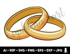 Diamond Rings, Diamond Engagement Rings, Bride And Groom Cartoon, Ring Vector, Ring Icon, Ring Logo, Diamond Vector, Cricut Wedding, Woman Silhouette
