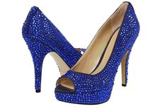 Blue Wedding Shoes for Under 200 Sapphire Studded, Enzo Angelini