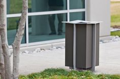 Dust-bin for public spaces KNIGHT FORMS+SURFACES