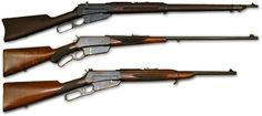 The Winchester Model 1895 is a lever-action repeating firearm developed and manufactured by the Winchester Repeating Arms Company in the late 19th century, chambered for a number of full-size military and hunting cartridges such as 7.62×54mmR, .303 British, .30-03, .30 Army, .30-06, .35 Winchester, .38-72 Winchester, .40-72 Winchester and .405 Winchester.